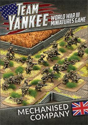 TBBX10 Mechanised Company Team Yankee battlefront
