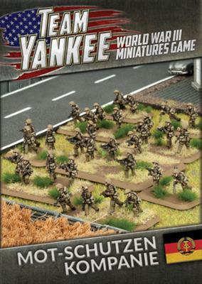 TEBX02 East German Mot-Schutzen Kompanie (73 figures) Team Yankee battlefront