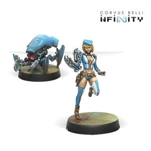 Tech Bee & Crabbot Ancillary Remote Unit Infinity Corvus Belli  (5026727821449)