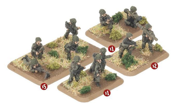 TFR702 French Infantry Platoon Team Yankee battlefront