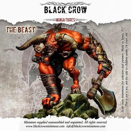 The Beast BlackCrowFigures BlackCrowMinis