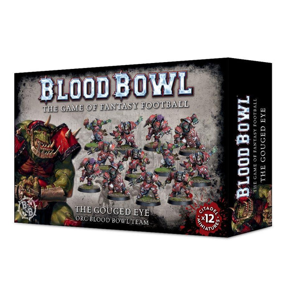The Gouged Eye Orc Blood Bowl Team Generic Games Workshop  (5026484617353)