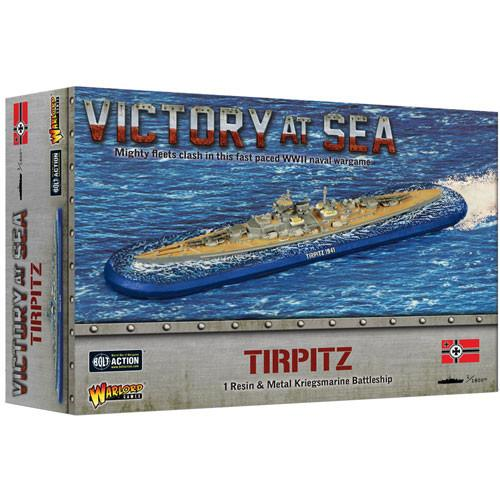 Tirpitz Victory at Sea Warlord Games