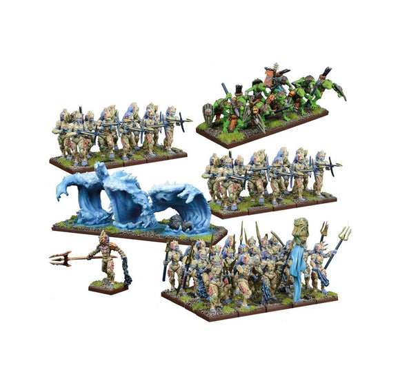 Trident Realm Of Neritica Army Kings of War Mantic Games  (5026522693769)