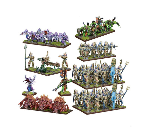 Trident Realm Of Neritica Mega Army Kings of War Mantic Games  (5026522562697)