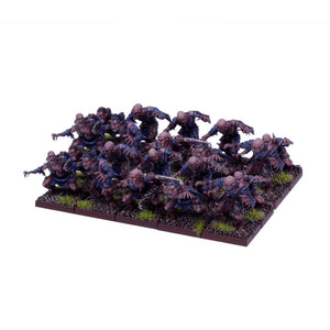 Undead Ghoul Regiment Kings of War Mantic Games  (5026520432777)