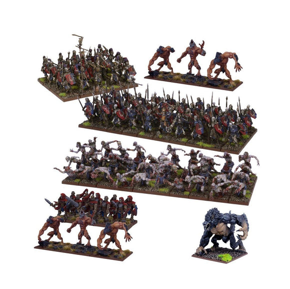 Undead Mega Army Kings of War Mantic Games  (5026728083593)