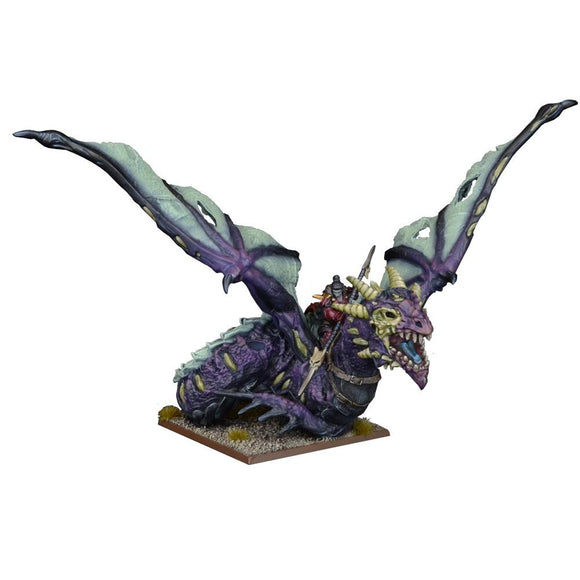 Undead Vampire Lord On Undead Dragon Kings of War Mantic Games  (5026520662153)