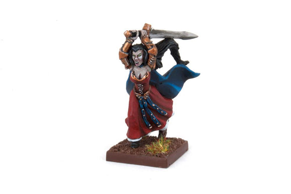 Undead Vampiress Ilona Kings of War Mantic Games  (5026519416969)