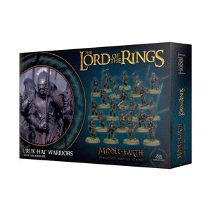 Uruk-Hai Warriors LOTR/The Hobbit Games Workshop  (5026535669897)