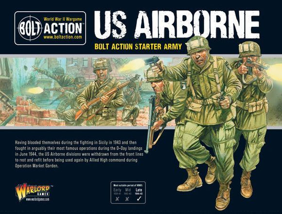 US Airborne Starter Army Warlord Minis Warlord Games