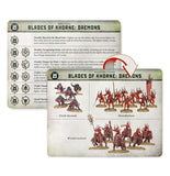 Warcry: Daemons Of Khorne Cards Warhammer Games Workshop  (5026467020937)