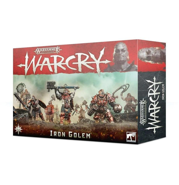 Warcry: Iron Golem Warhammer Games Workshop  (5026481242249)