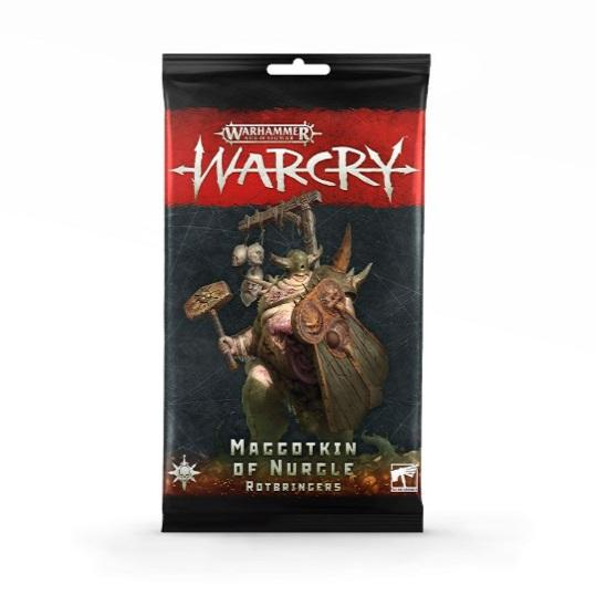 Warcry: Nurgle Rotbringers Cards Warhammer Games Workshop  (5026694922377)