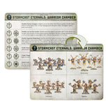 Warcry: Stormcast Eternals Warrior Chamber Card Pack Warhammer Games Workshop  (5026694365321)