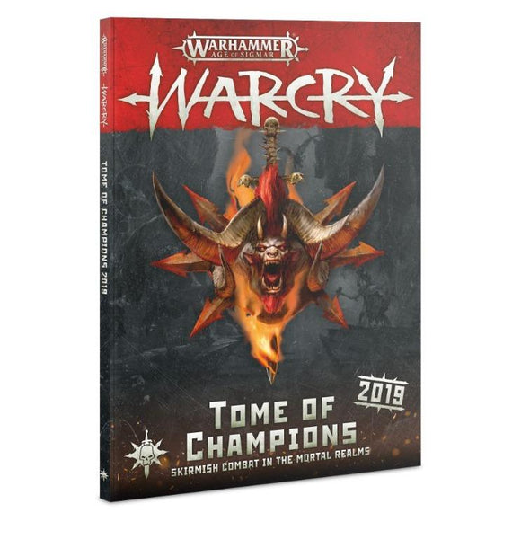 Warcry: Tome Of Champions 2019 (English) Warhammer Games Workshop  (5026693251209)