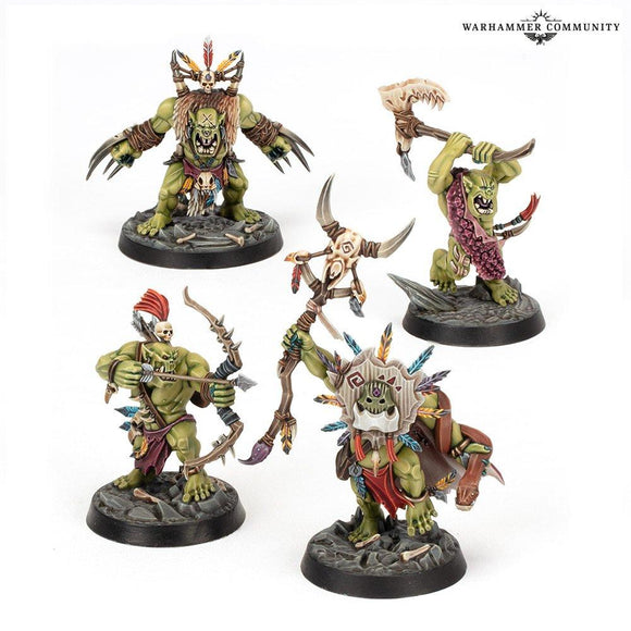 Warhamer Underworlds: Hedkrakka's Madmob Underworlds Games Workshop