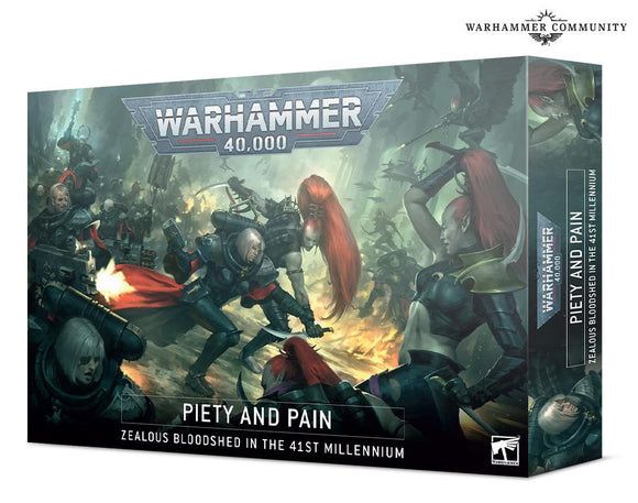 Warhammer 40,000: Piety And Pain 40K Generic Games Workshop