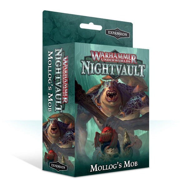 Warhammer Underworlds: Nightvault Mollog's Mob Generic Games Workshop  (5026693677193)