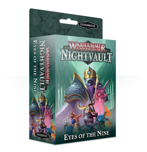 Warhammer Underworlds: Nightvault The Eyes of the Nine Generic Games Workshop  (5026693775497)
