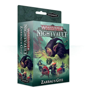 Warhammer Underworlds: Nightvault Zarbag's Gitz Generic Games Workshop  (5026699935881)