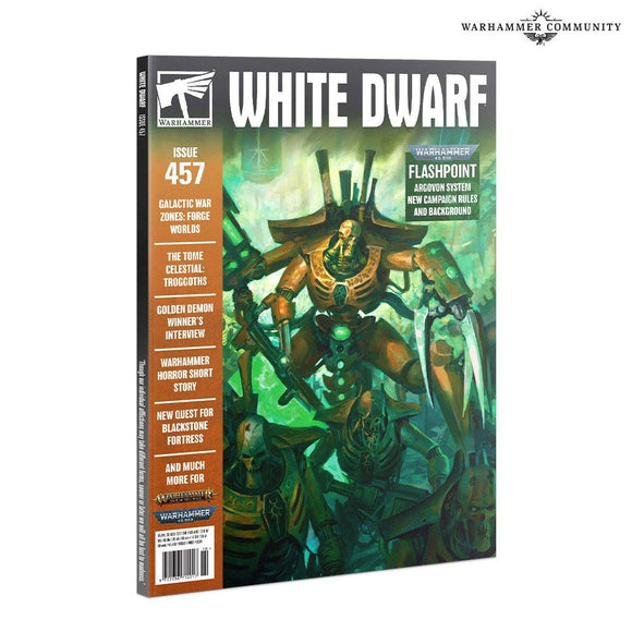 White Dwarf 457 (Oct-2020) White Dwarf Games Workshop