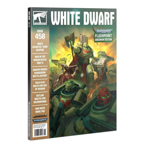 White Dwarf 458 (Nov-20) White Dwarf Games Workshop