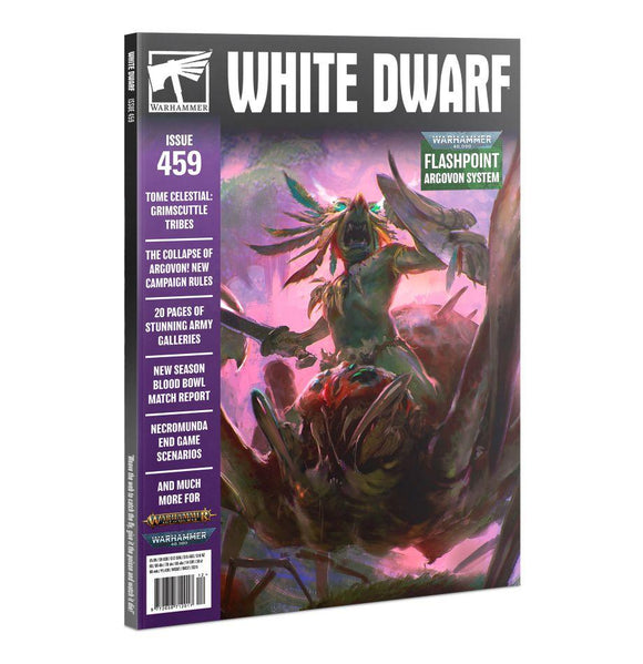 White Dwarf 459 (Dec-20) White Dwarf Games Workshop