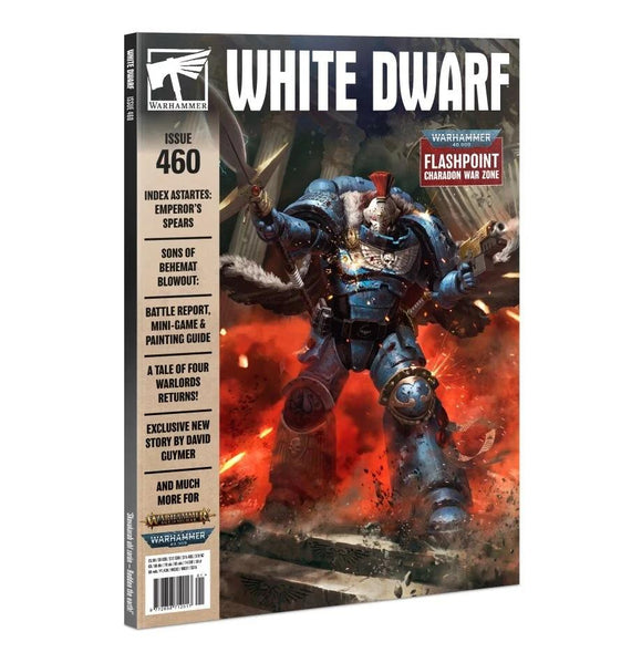 White Dwarf 460 (Jan-21) White Dwarf Games Workshop