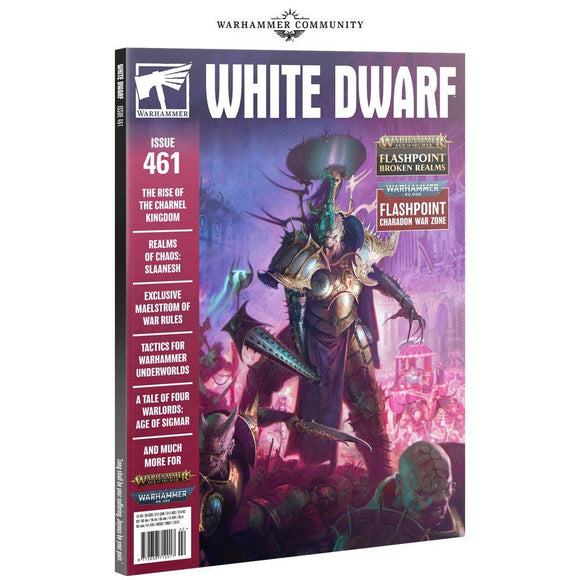 White Dwarf 461 (Feb-21) White Dwarf Games Workshop
