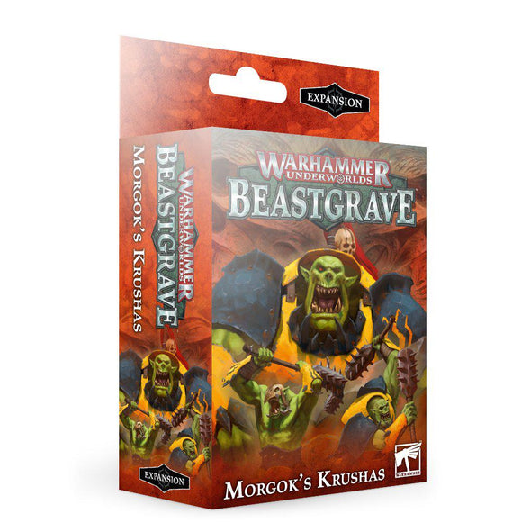Whu: Morgok's Krushas Underworlds Games Workshop