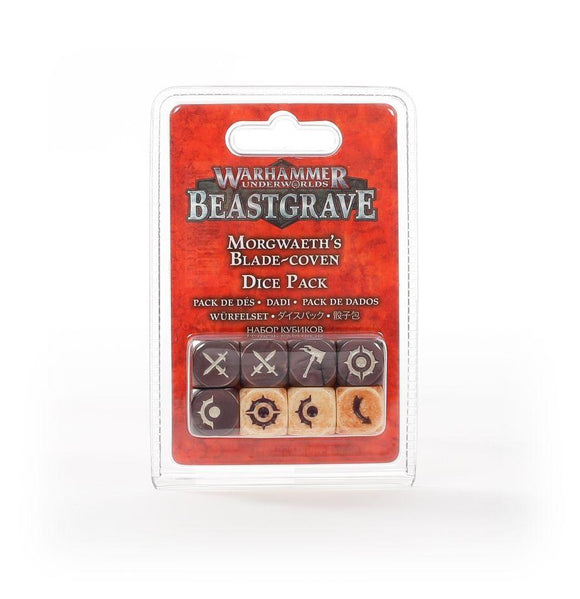 Whu: Morgwaeth'S Blade-Coven Dice Set Underworlds Games Workshop