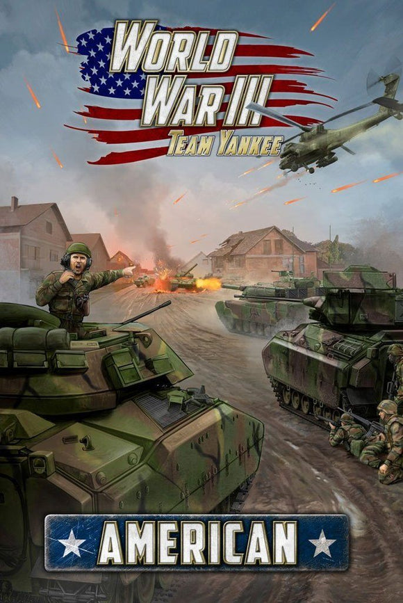 WW3-03 WWIII: American Book Team Yankee battlefront