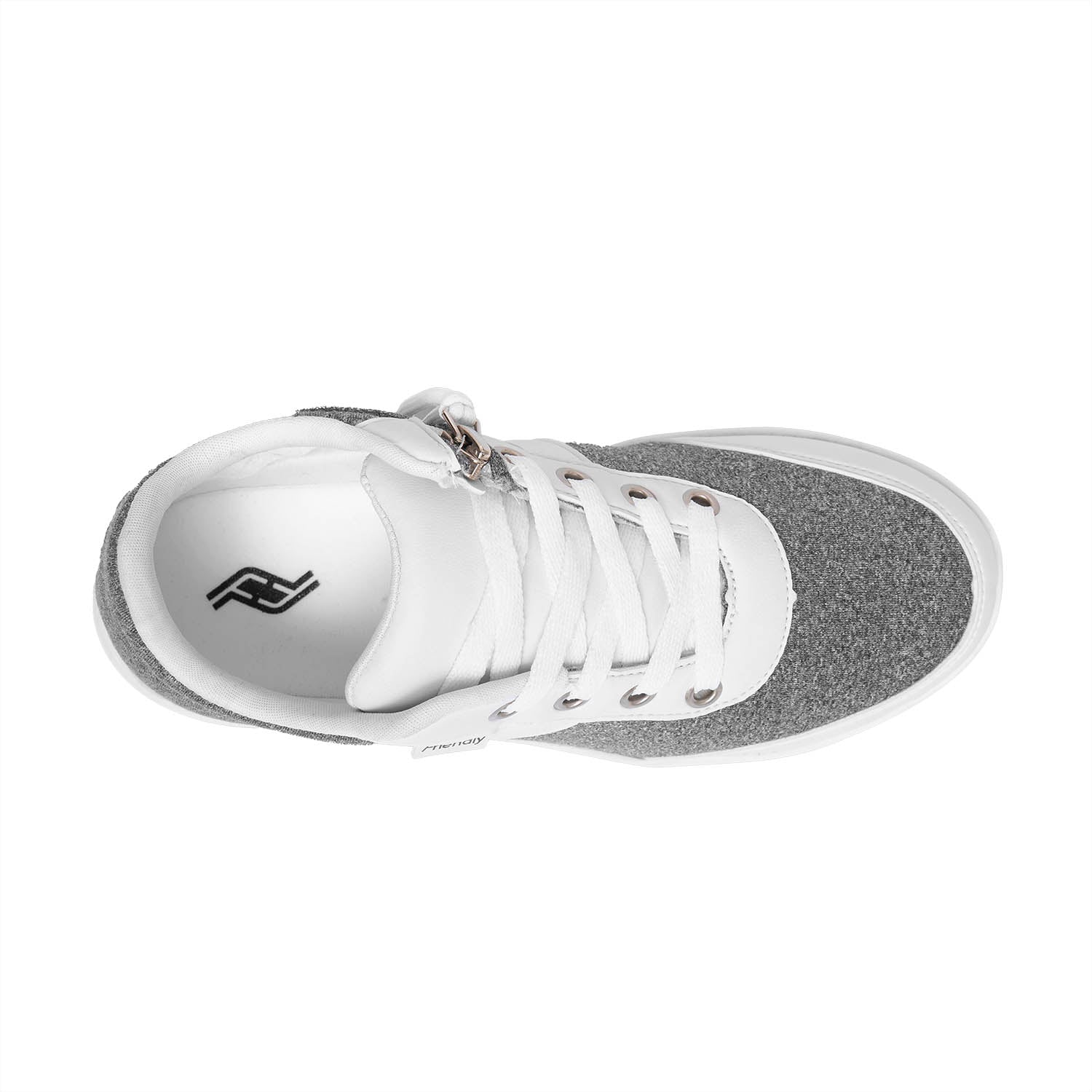 Women's Marlo Knit / Heather Grey & White Shoe