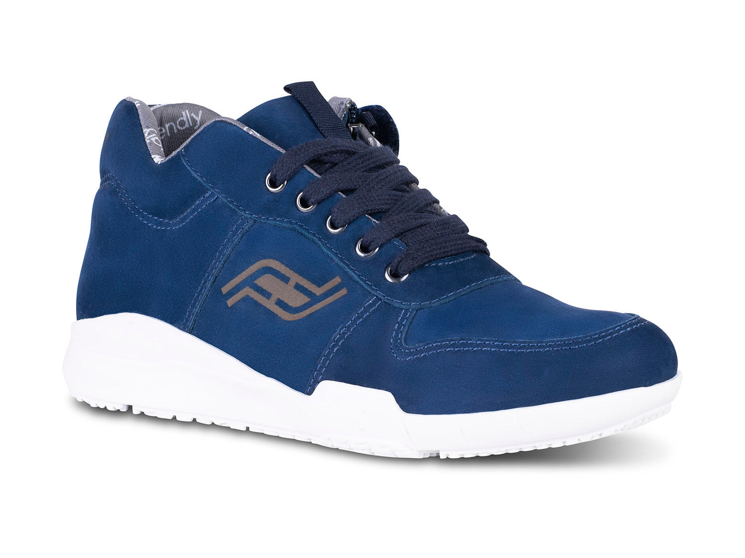 Men's Medimoto Blue Suede Shoe