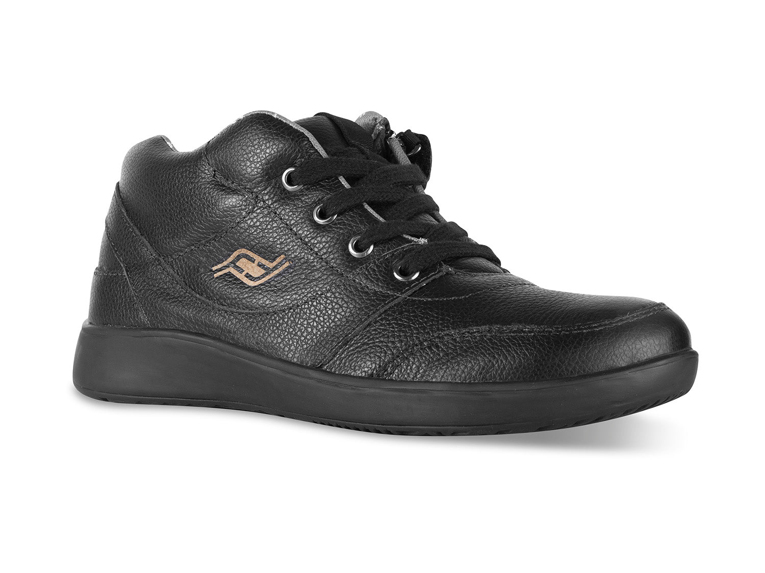 Women's Medimoto Black Leather Shoe