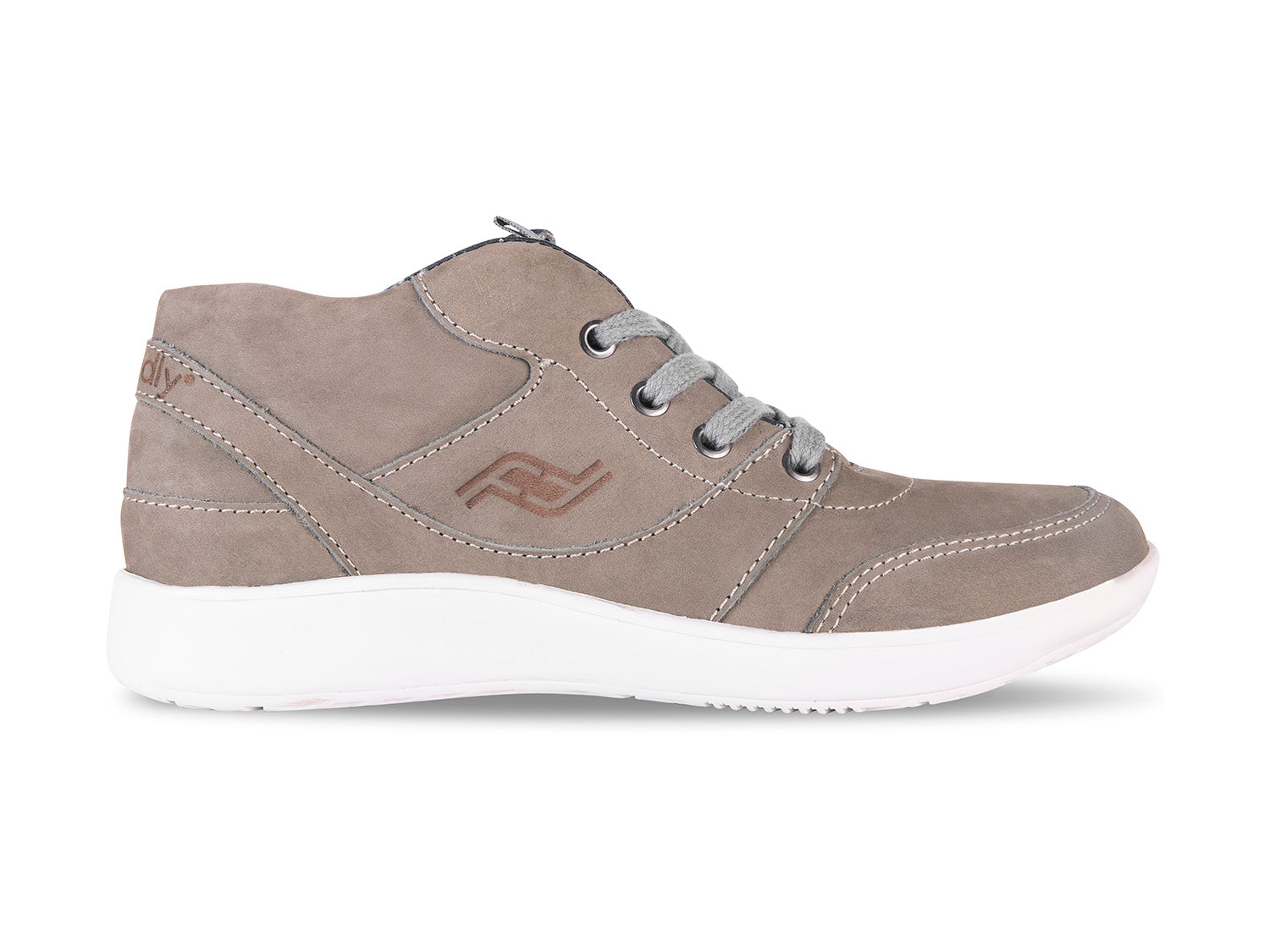 Women's Medimoto Taupe Suede Shoe