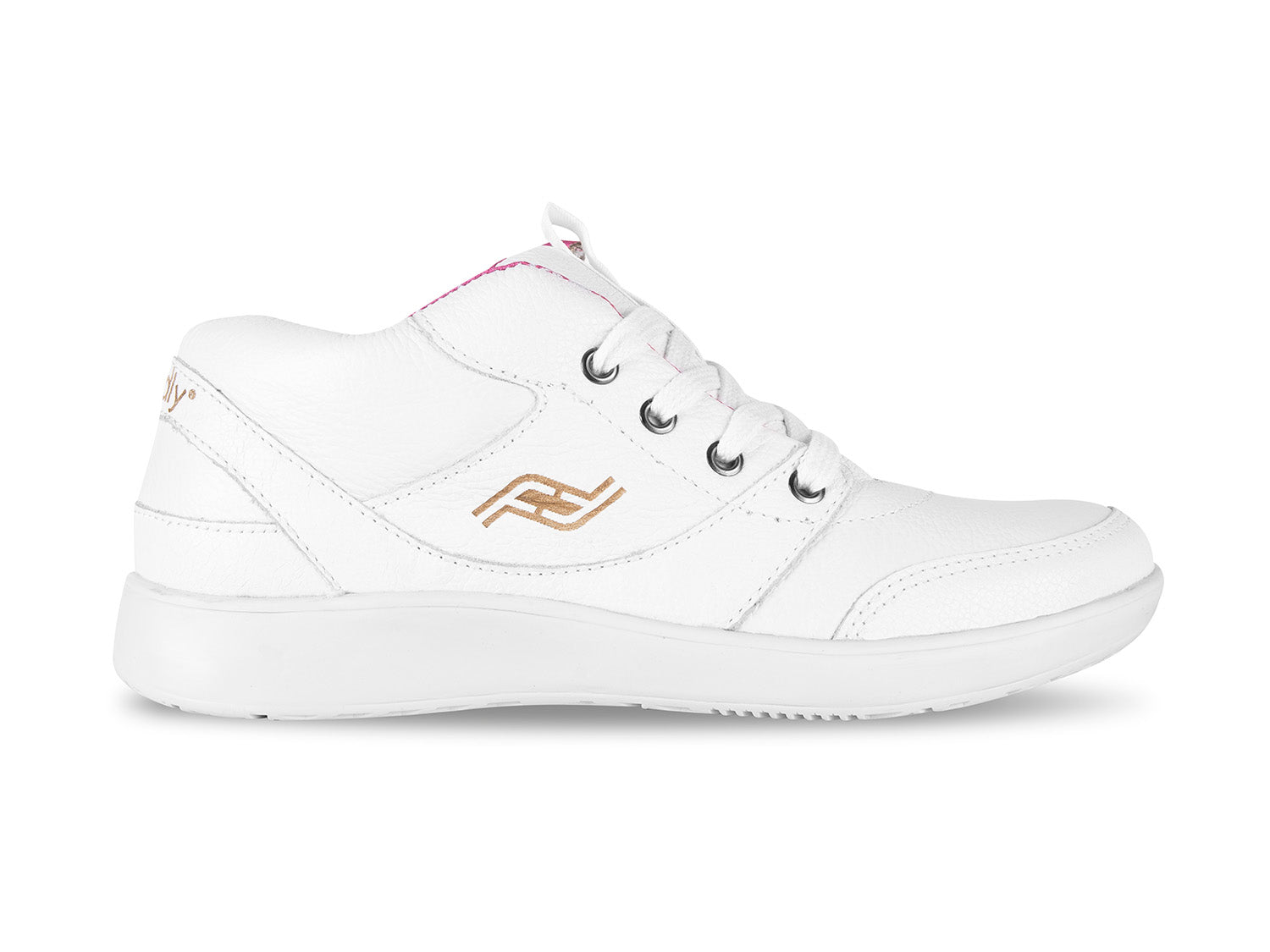 Women's Medimoto White Leather Shoe