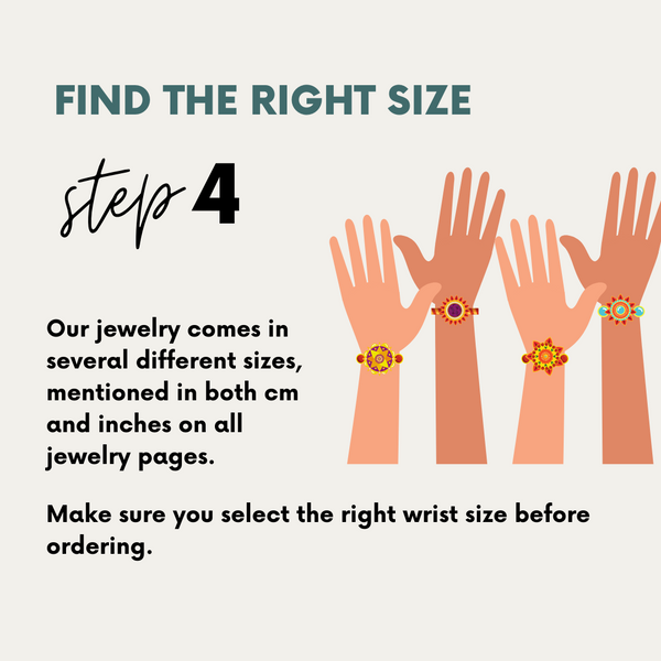 Go to our product pages to find the bracelet that fits you