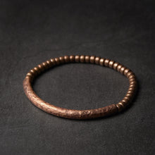 Load image into Gallery viewer, Handmade Hammered Pure Copper Bracelet - Tamba Copper Jewelry