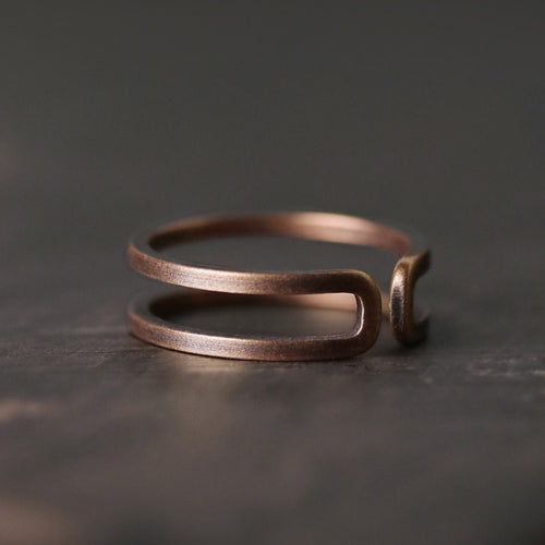 resizable copper ring