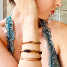 Load image into Gallery viewer, stack our copper bracelets
