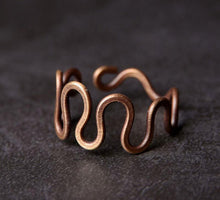 Load image into Gallery viewer, Vintage Copper Ring - Tamba Copper Jewelry