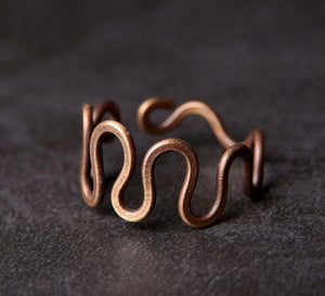 Vintage Copper Ring - Tamba Copper Jewelry