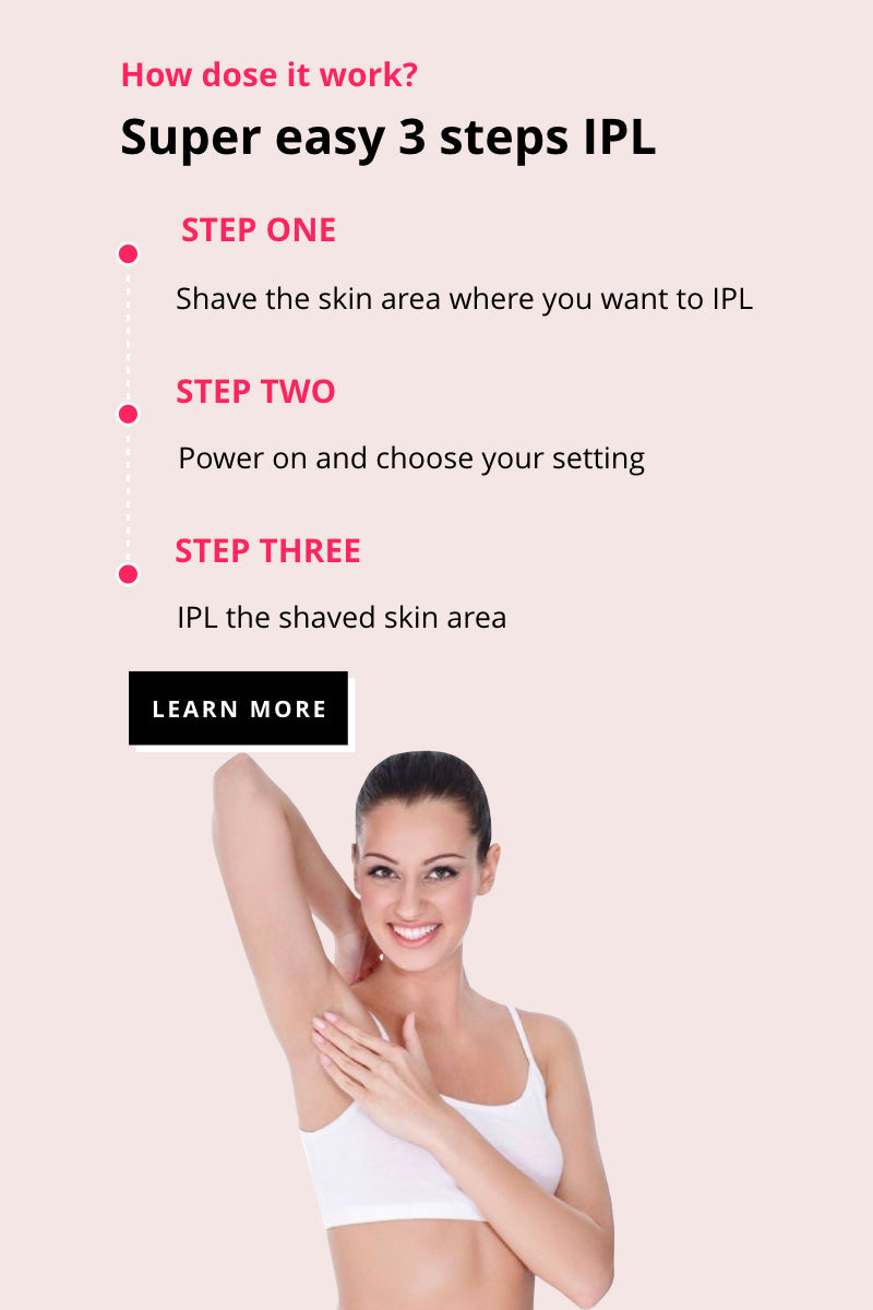 S SILKIN IPL Hair Removal Handset - How dose it work?