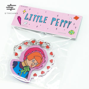 Don't Cry In The Morning Little Peppy Keychain