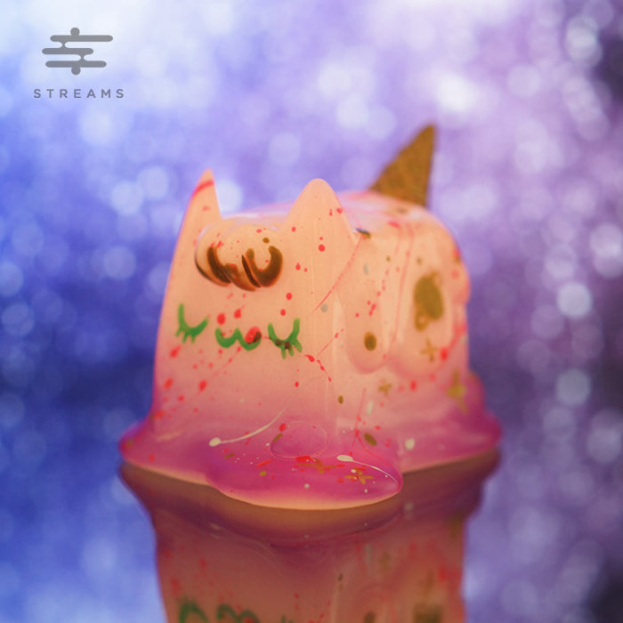 Rato Kim Boxcat Series Space Ice Cream Cat (GID Type)