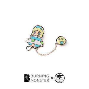 Burning Monster PINS Planet version