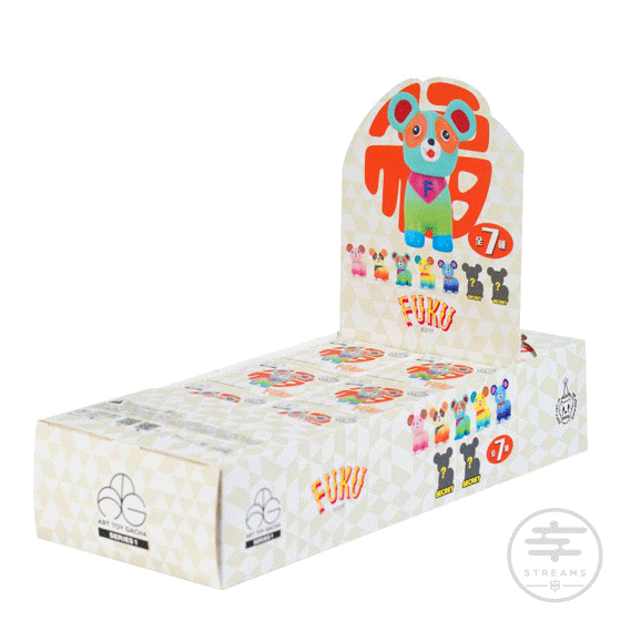 Art Toy Gacha Series 1 Don't Cry In The Morning FUKU Box Set