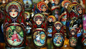 russian matreshka nesting doll